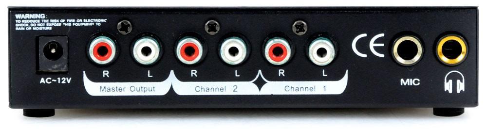 Karneval PA Anlage mit USB Mixer und vier Boxen DJ-Alaaf – Bild 5