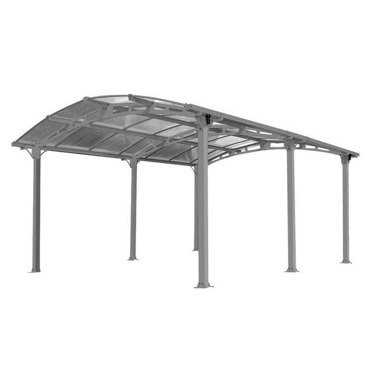 Carport Stellplatz Alu ARCADIA 5000 TEPRO 7306 – Bild 1