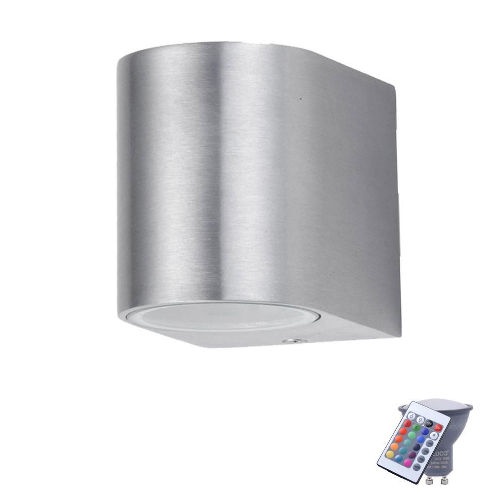 Lampe De Mur De Led Rvb Pour L Usage Ext Rieur Avec T L Commande