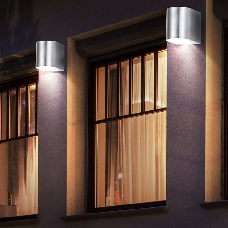 RGB LED Wall lamp for outdoor use with remote control – Bild 11