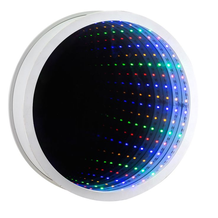 Design Wall Mirror Lamp Switch Lighting Round RGB LED Light  Globo 84025 – Bild 4