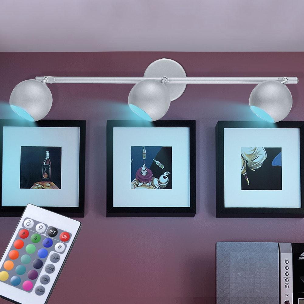 rgb led deckenstrahler mit fernbedienung galb unsichtbar lampen m bel innenleuchten deckenleuchten. Black Bedroom Furniture Sets. Home Design Ideas