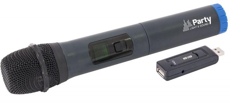 UHF Funksystem mit USB Stick Empfänger und Mikrofon 15-3055 – Bild 1
