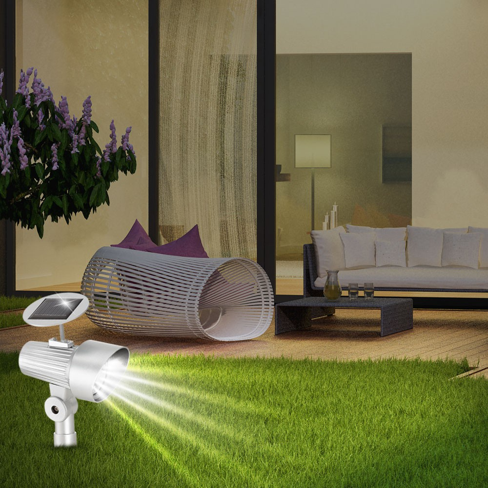 led solarleuchte f r ihren garten lampen m bel au enleuchten steckleuchten strahler spots. Black Bedroom Furniture Sets. Home Design Ideas
