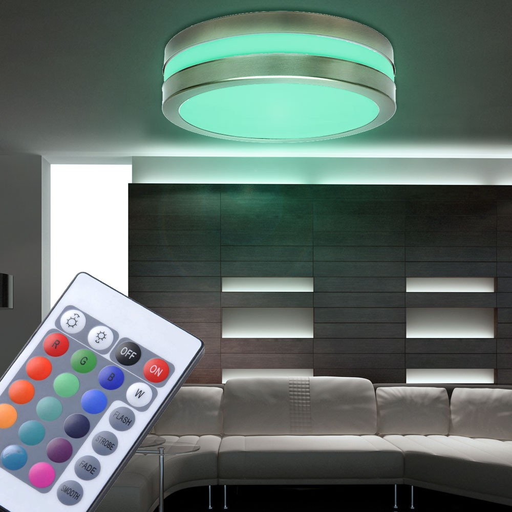 rgb led deckenleuchte f r den au enbereich jurba. Black Bedroom Furniture Sets. Home Design Ideas