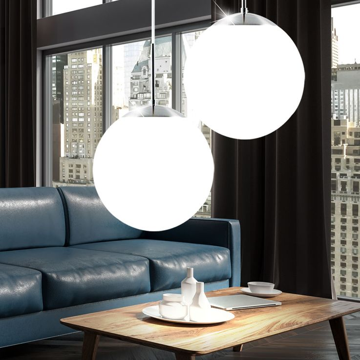 2 set RGB LED pendant lights for the living room CAFE 20 – Bild 7