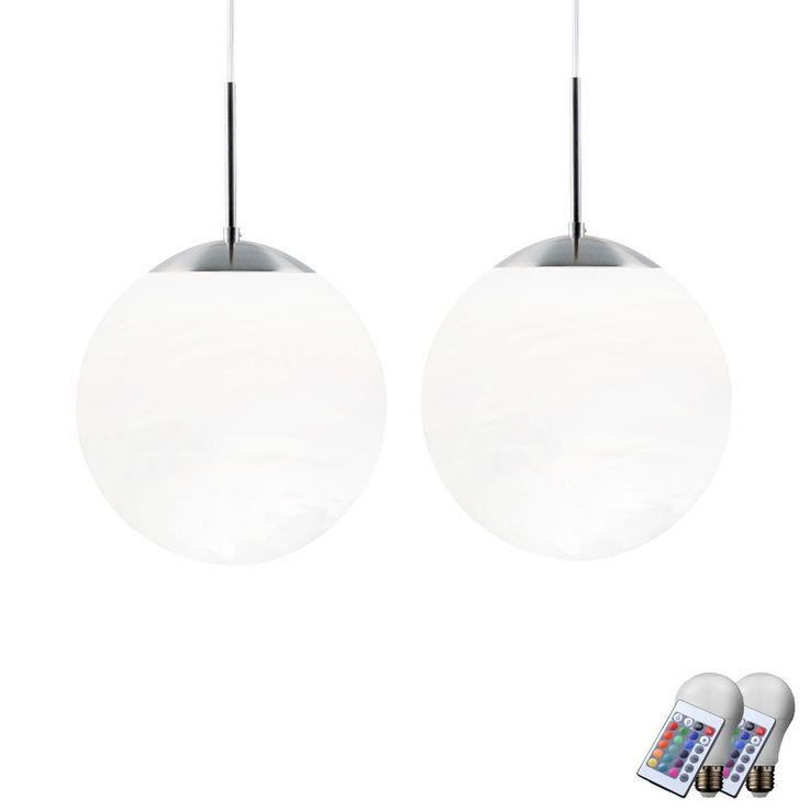 2 set RGB LED pendant lights for the living room CAFE 20 – Bild 1