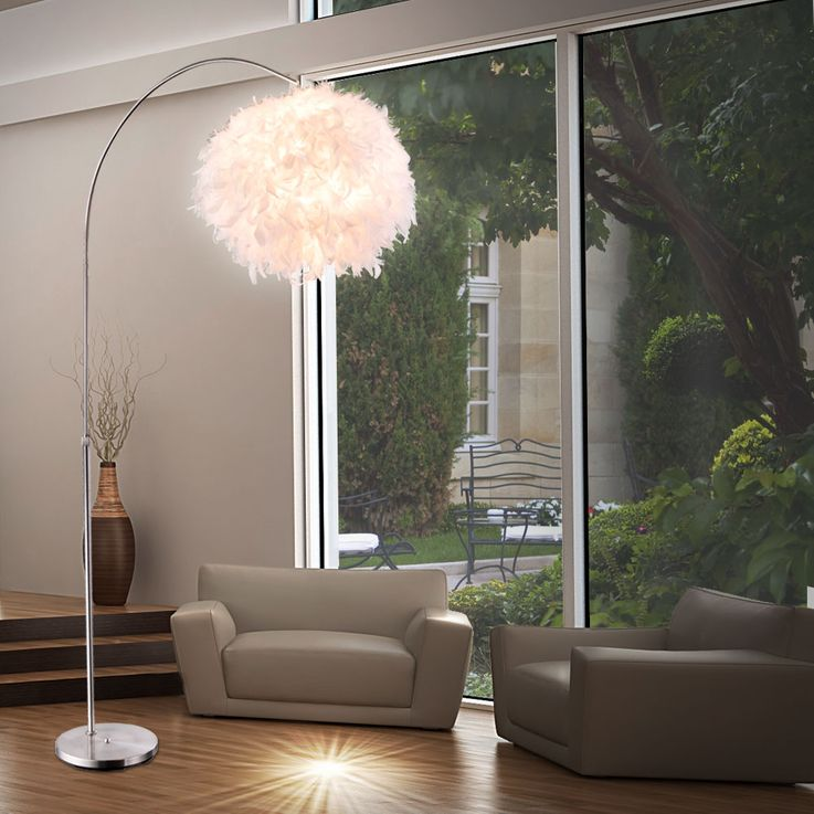Floor lamp Living room light Spring lamp Bow light Floor lamp Globo 15057S – Bild 5