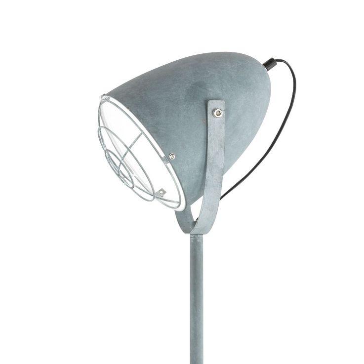 Lampadaire vintage luminaire sur pied gris salle de séjour chambre éclairage spot – Bild 4