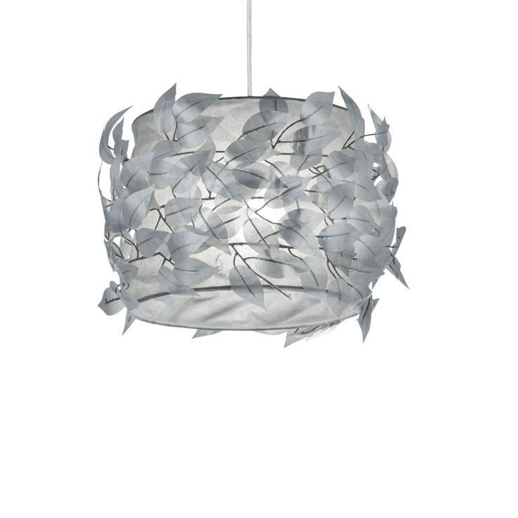 Suspension lustre luminaire plafond éclairage feuilles gris salle de séjour éclairage – Bild 4