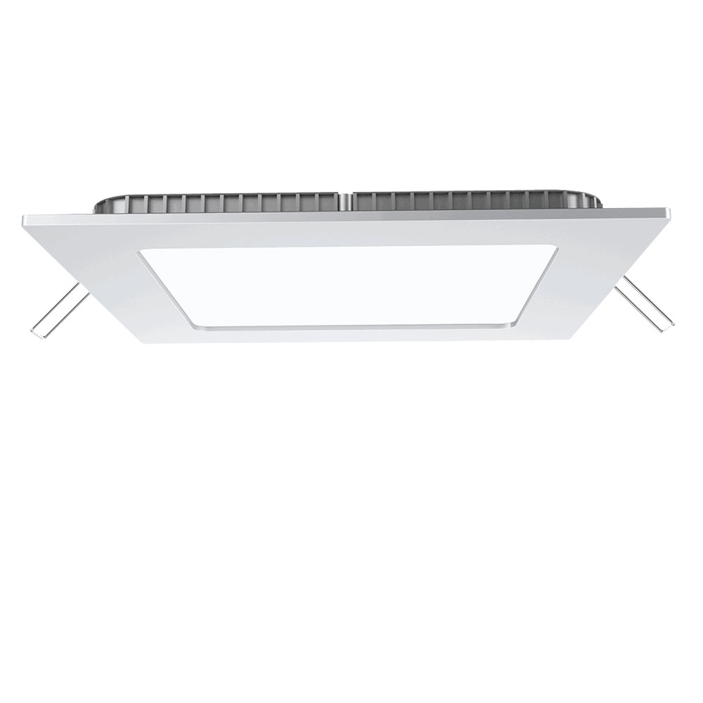 panneau led plafond encastrable clairage cuisines aluminium lampe ebay. Black Bedroom Furniture Sets. Home Design Ideas