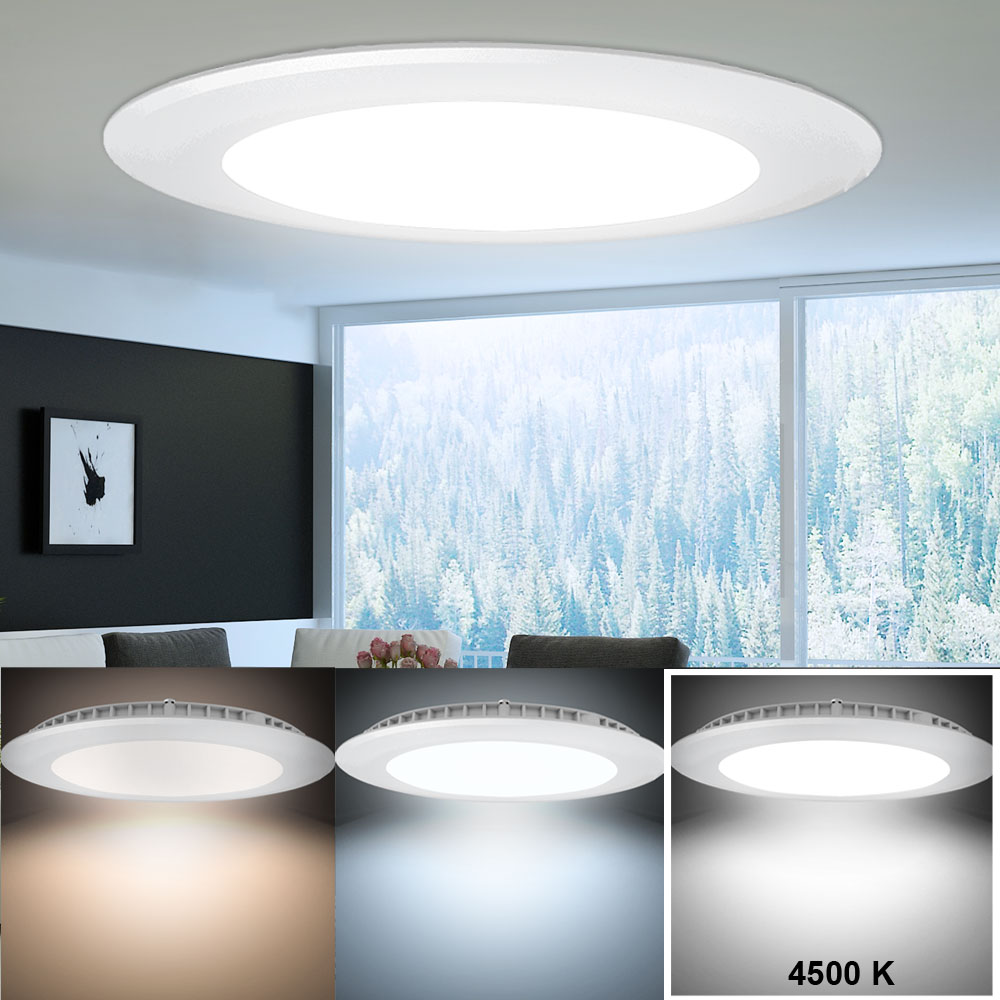 20W LED Deckenbeleuchtung Treppenhaus Panel Leuchte Alu ...