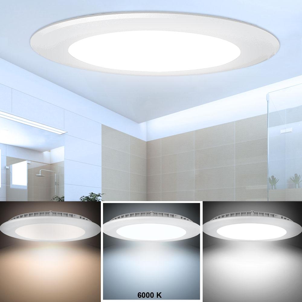 led panel aus alu in wei zur deckenmontage vt 2407 lampen m bel b ro gewerbe led panels. Black Bedroom Furniture Sets. Home Design Ideas