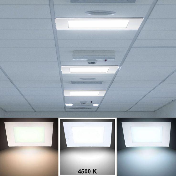 24 Watt LED Einbau Strahler für Ihre vier Wände VT-2407 – Bild 2