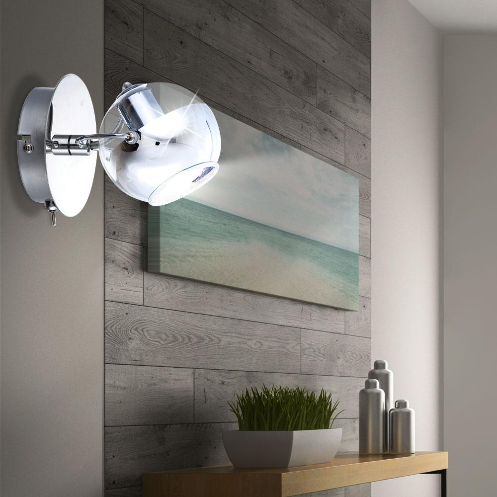 2er set led wand lampen aus chrom f r ihre vier w nde aramid unsichtbar lampen m bel. Black Bedroom Furniture Sets. Home Design Ideas