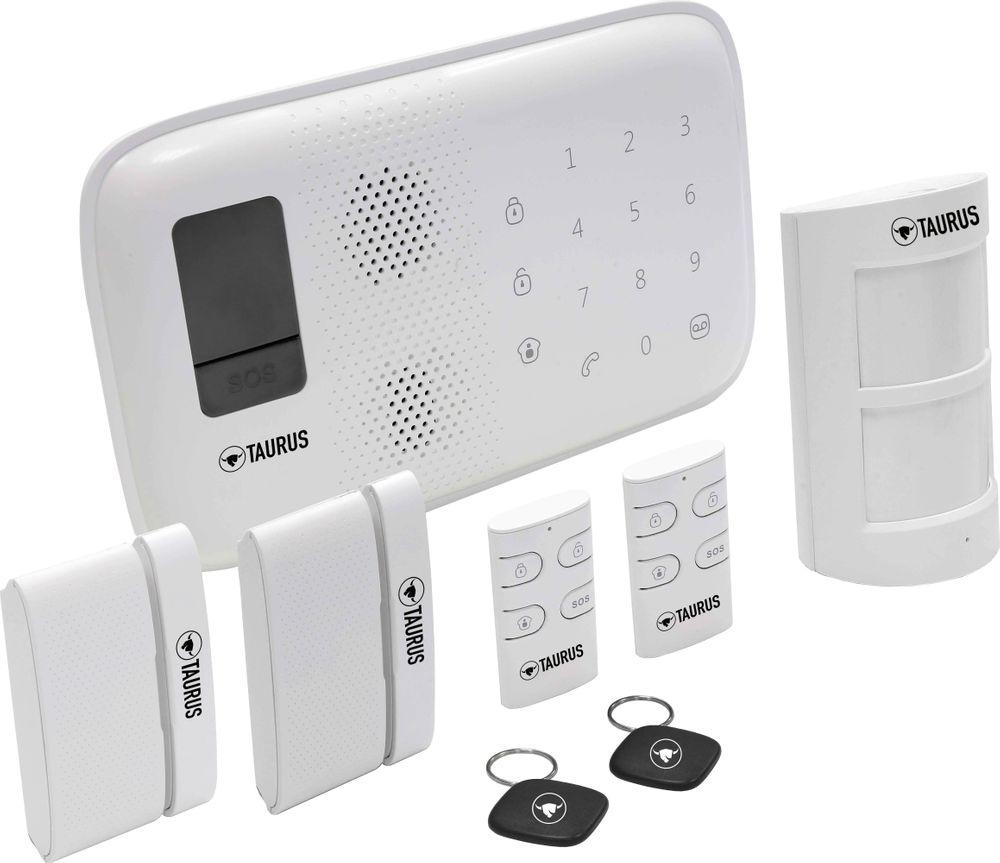 TAURUS O3 Plug & Play Alarmsystem Basispaket zur Selbstinstallation mit GRATIS App BHP B970001