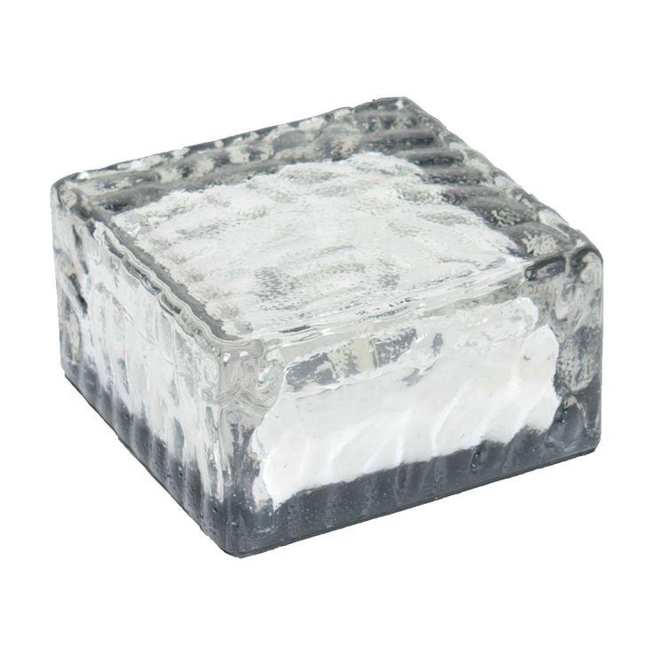 6er Set LED Solarleuchten in Form von Eiswürfeln zur Dekoration – Bild 6