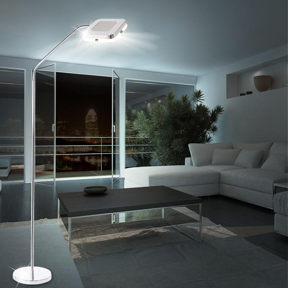 led stehleuchte flexo deckenfluter strahler wohnzimmer. Black Bedroom Furniture Sets. Home Design Ideas