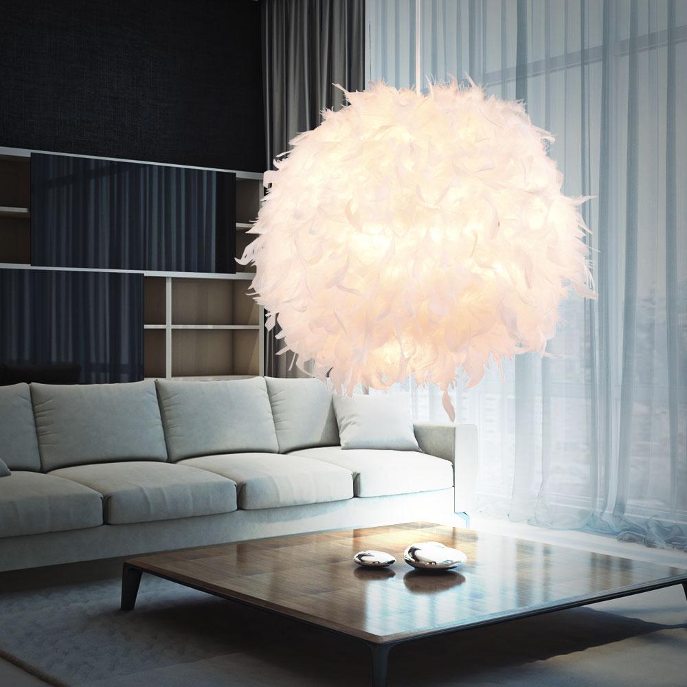 10 watt led h ngelampe mit wei em federn f r ihren wohnraum unsichtbar lampen m bel. Black Bedroom Furniture Sets. Home Design Ideas