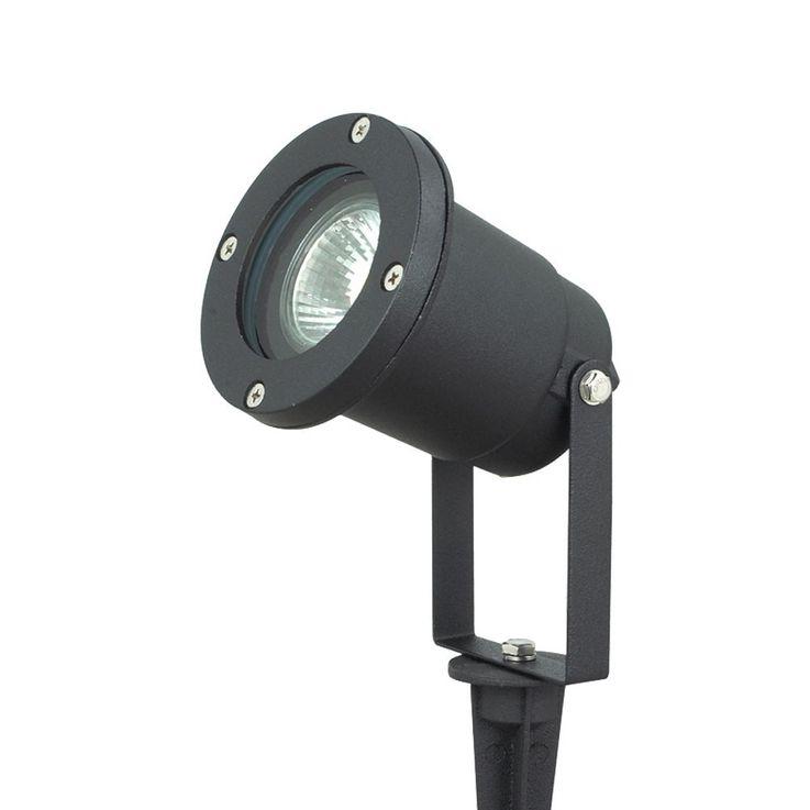 2er Set LED Stecklampen aus Aluminium-Druckguss in schwarz – Bild 6