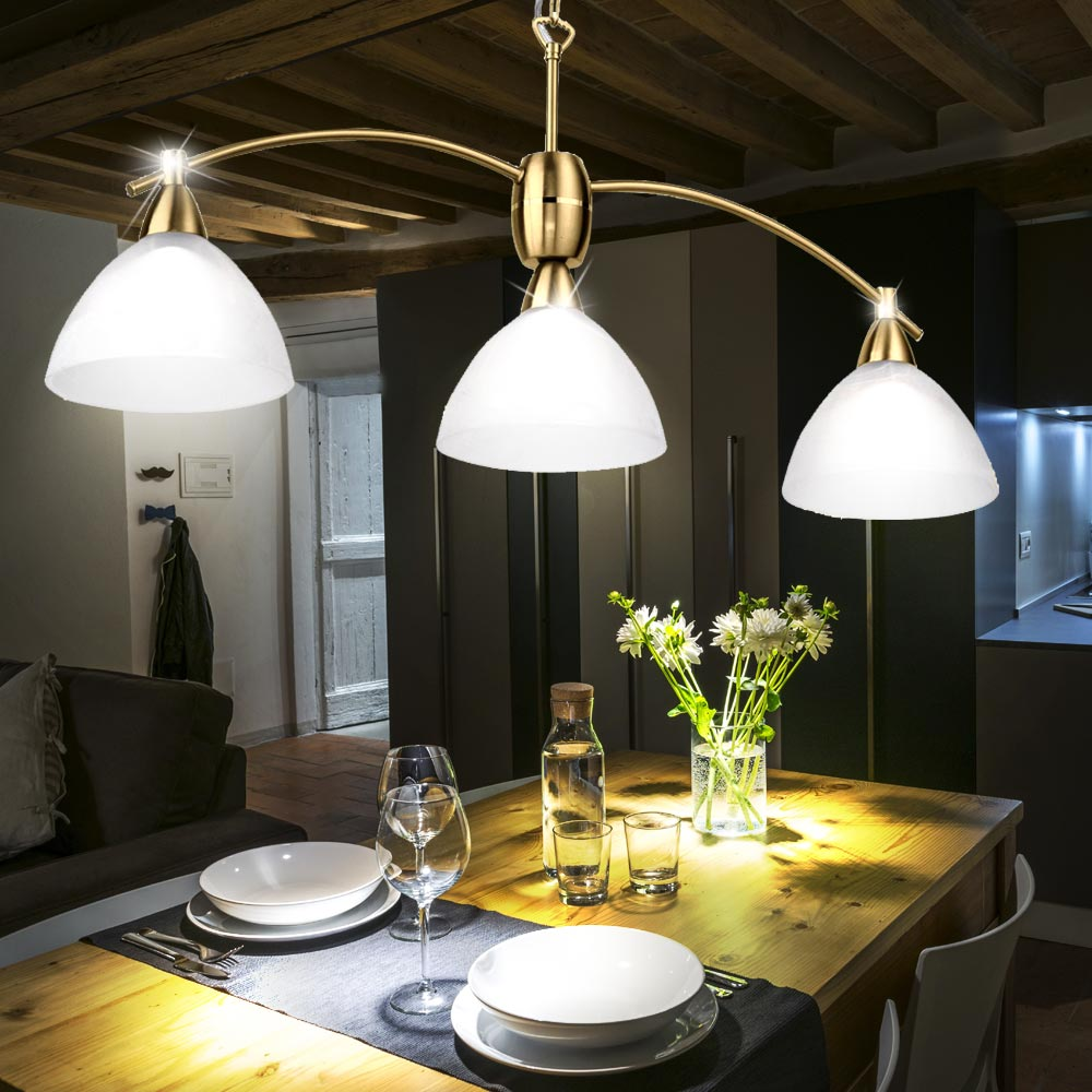 Brass Pendant Lamp Living Room Dining Room Hanging Light