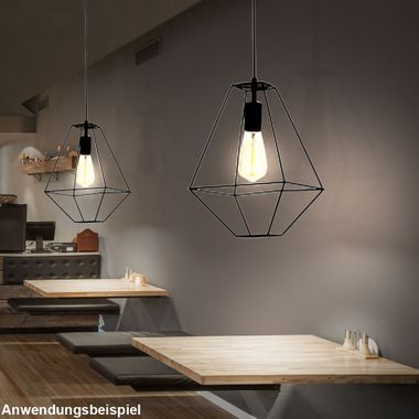 Retro pendant light cage design GAIA – Bild 4