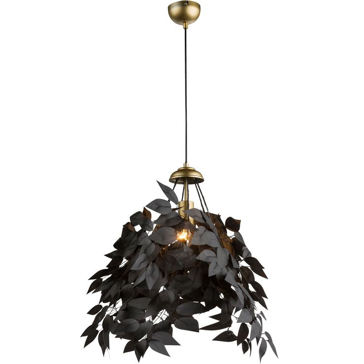 Pendulum lamp in leaf design for your living space – Bild 1