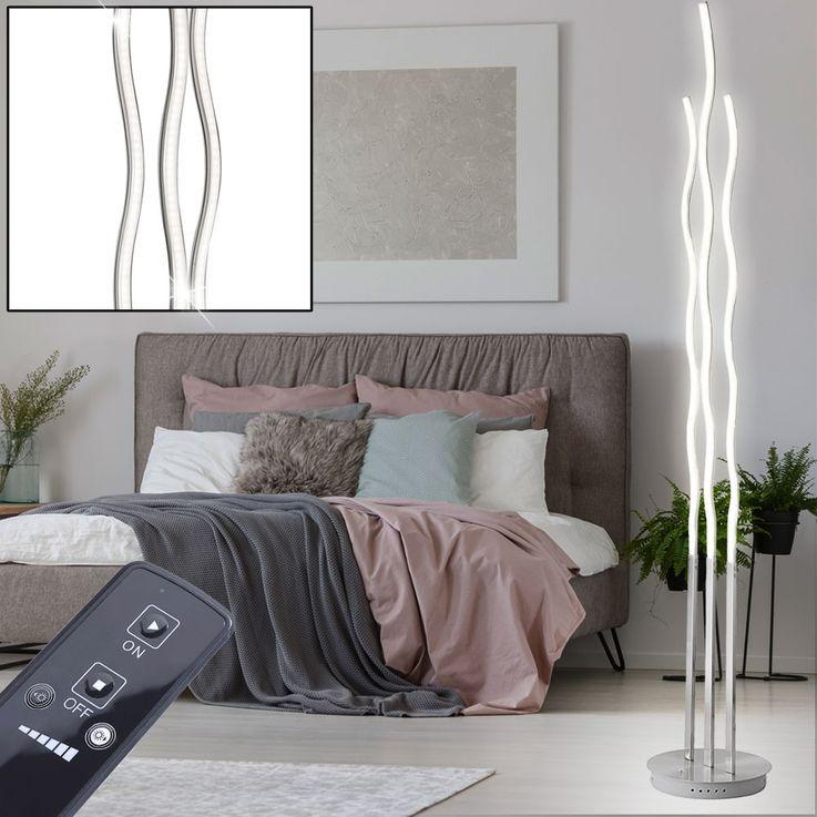30 Watt LED Steh Stand Leuchte Wohn Zimmer Fernbedienung Lampe dimmbar Leuchten Direkt 15127-55 – Bild 4