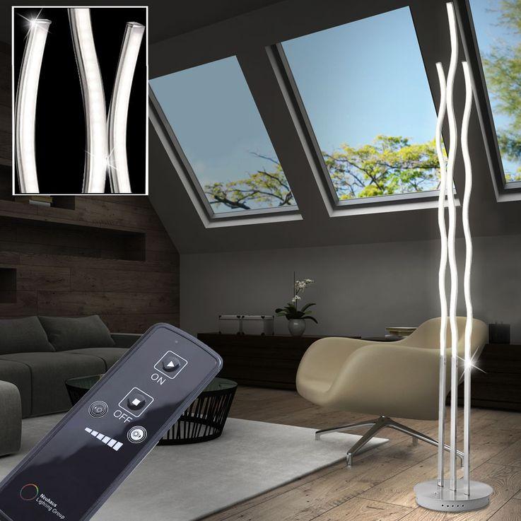 Lampadaire DEL 30 watts luminaire sur pied lampe LED télécommande dimmable éclairage – Bild 5