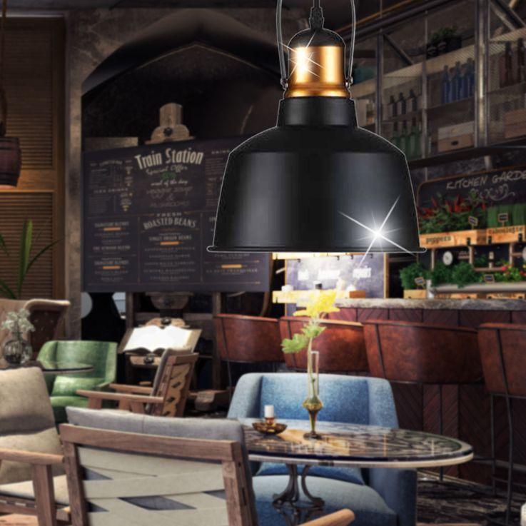 Pendentif Vintage lampe en aluminium pour le salon VT-7422 – Bild 3