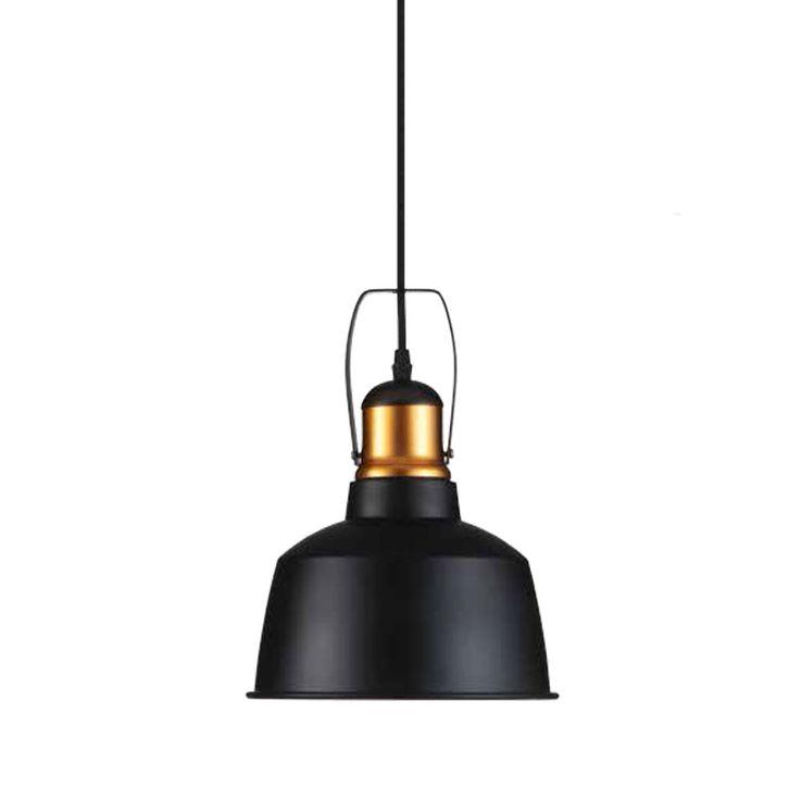 Vintage pendant lamp made of aluminium for the living room VT-7422 – Bild 1