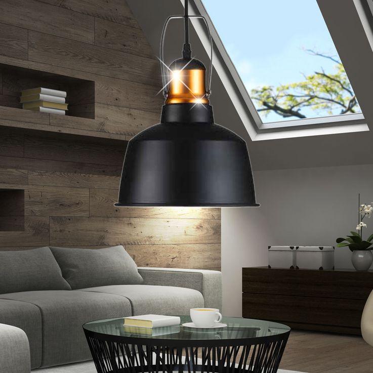 Vintage pendant lamp made of aluminium for the living room VT-7422 – Bild 4