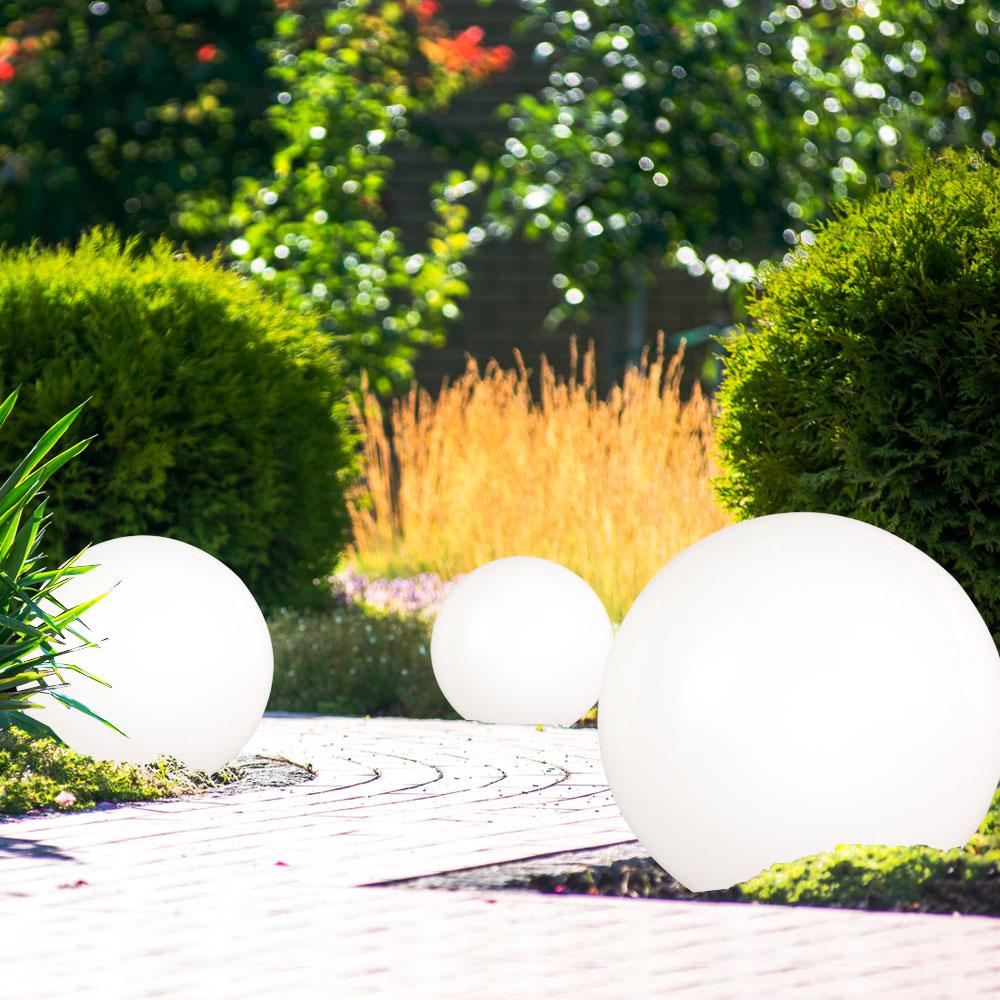 led solar au en kugelleuchten mit 20 cm durchmesser unsichtbar lampen m bel au enleuchten. Black Bedroom Furniture Sets. Home Design Ideas