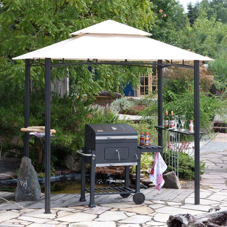 Grillpavillion TEPRO 246x154x255 cm Garten Camping Terrasse 3109 – Bild 3