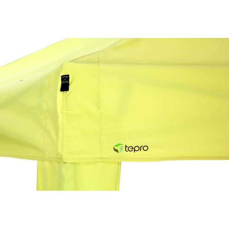 Pavillon lemon TEPRO ARUBA 350x400x290 cm Garten Camping Terrasse 5504 – Bild 4