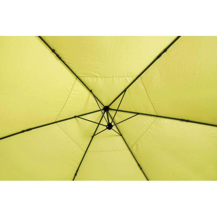 Pavillon lemon TEPRO ARUBA 350x400x290 cm Garten Camping Terrasse 5504 – Bild 8