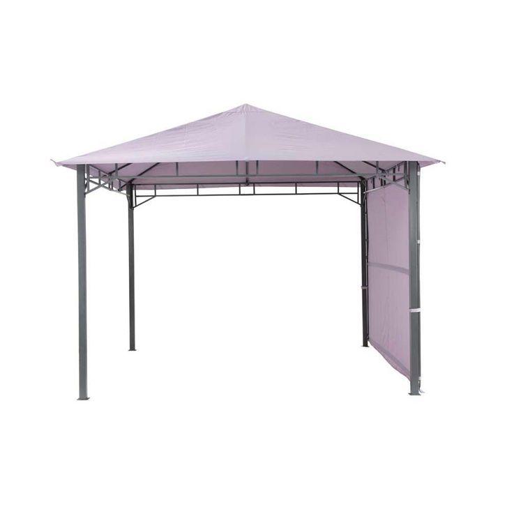 Pavillon lavendel TEPRO LEHUA 330x330x285 cm Garten Camping Terrasse 5510 – Bild 3