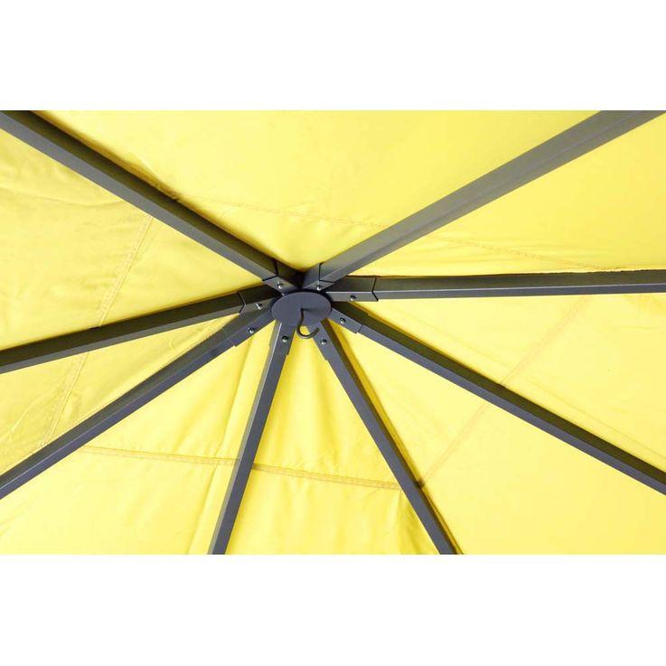 Pavillon gelb TEPRO LEHUA 330x330x285 cm – Bild 7