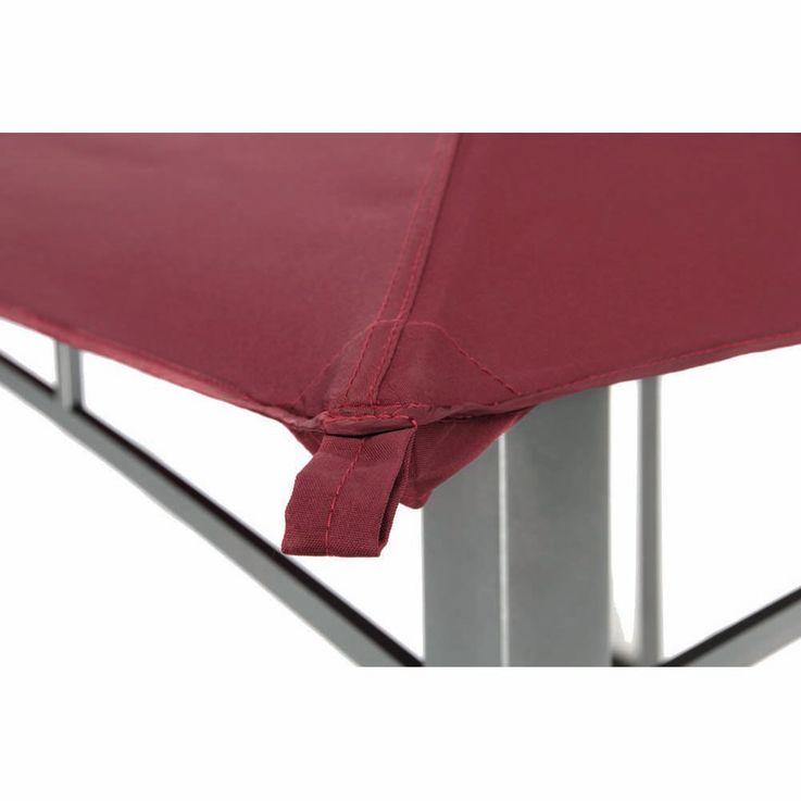 Pavillon burgund TEPRO WAYA 330x330x290 cm – Bild 6