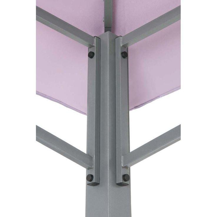 Pavillon lavendel TEPRO WAYA 330x330x290 cm Garten Camping Terrasse 5528 – Bild 4