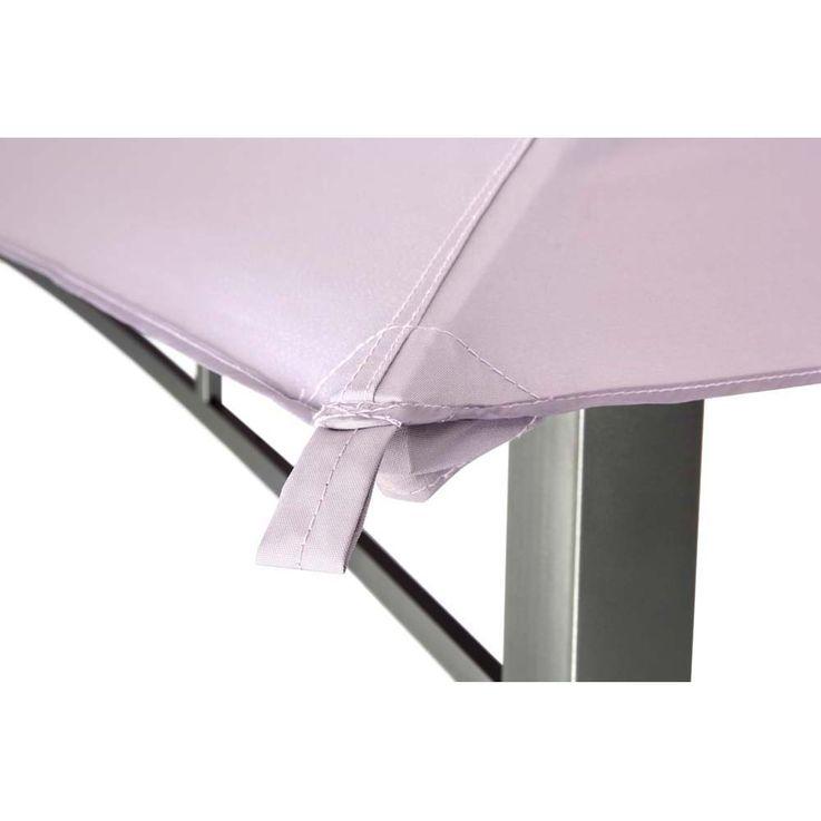 Pavillon lavendel TEPRO WAYA 330x330x290 cm Garten Camping Terrasse 5528 – Bild 6