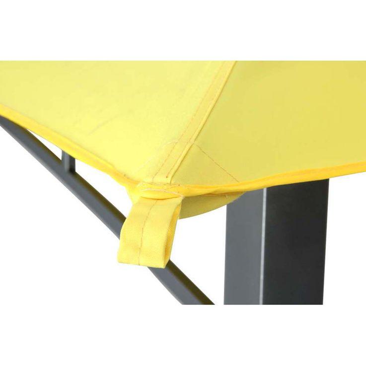 Pavillon gelb TEPRO WAYA 330x330x290 cm – Bild 5