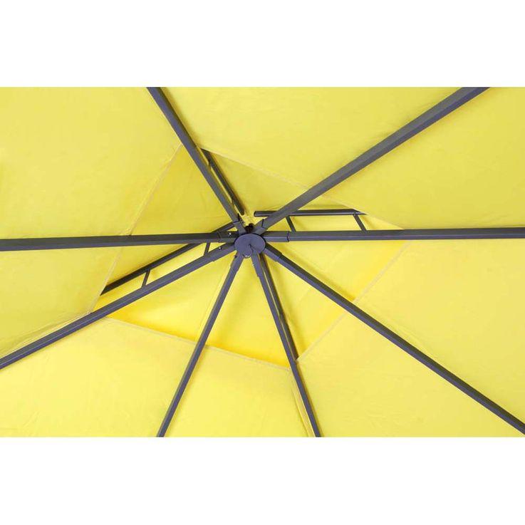 Pavillon gelb TEPRO WAYA 330x330x290 cm – Bild 8