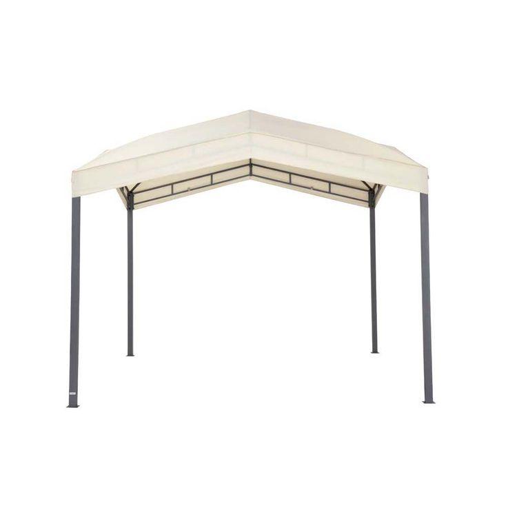 Pavillonbespannung beige TEPRO MARABO 305x305x96 cm Garten Camping Terrasse 5530BE – Bild 1