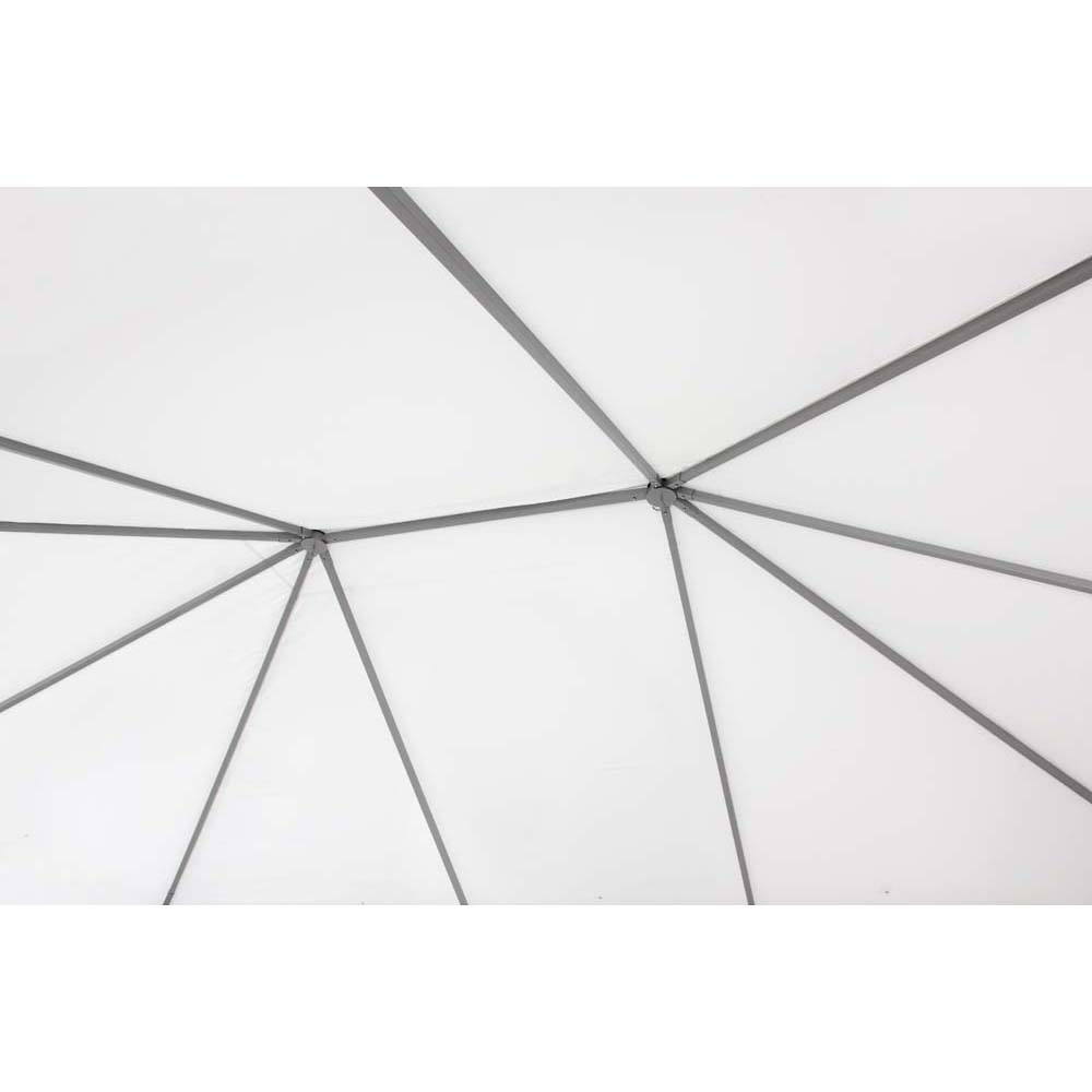 Pavillon weiß TEPRO KABARA 300x400x280 cm – Bild 7