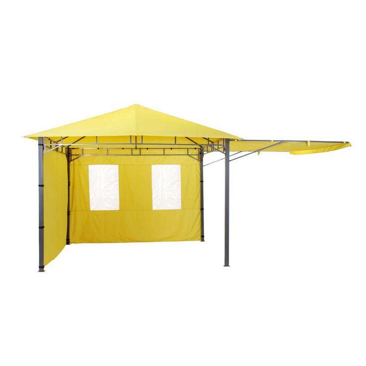 TEPRO Seitenteilset für LEHUA und WAYA gelb Pavillon Garten terasse Camping 5517 – Bild 2