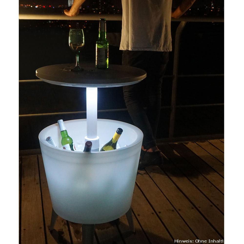 partytisch mit k hlfunktion beleuchtet tepro cool bar terrasse au en camping 605 ebay. Black Bedroom Furniture Sets. Home Design Ideas