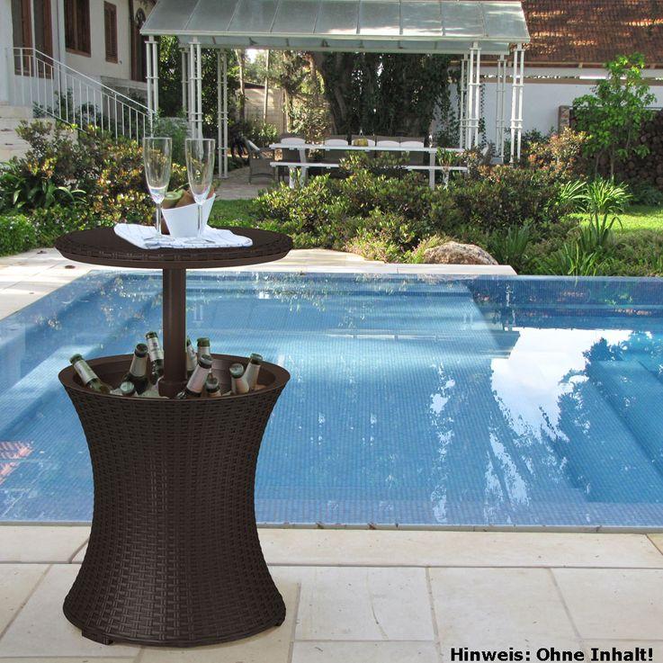Partytisch mit Kühlfunktion TEPRO PACIFIC COOL BAR Terrasse Außen Camping 6094EC – Bild 2