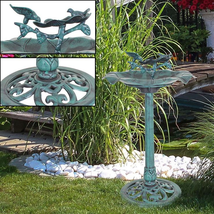 Robust Bird Potions Outdoor Decoration Stand Stand Water Bowl Basin  Harms 315077 – Bild 2