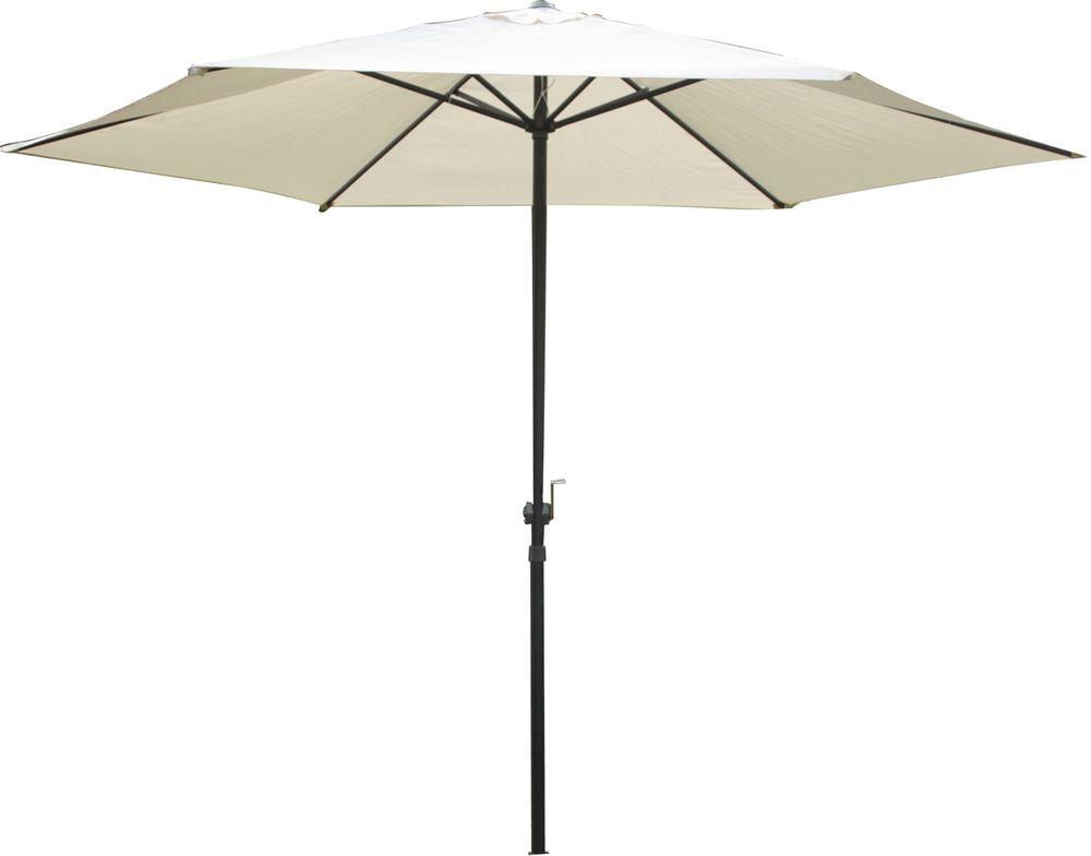 Sonnenschirme und Sonnensegel - Sonnenschirm CREME Ø 300cm 6 Streben  - Onlineshop ETC Shop